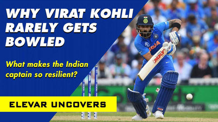 Why Virat Kohli Rarely Gets Bowled