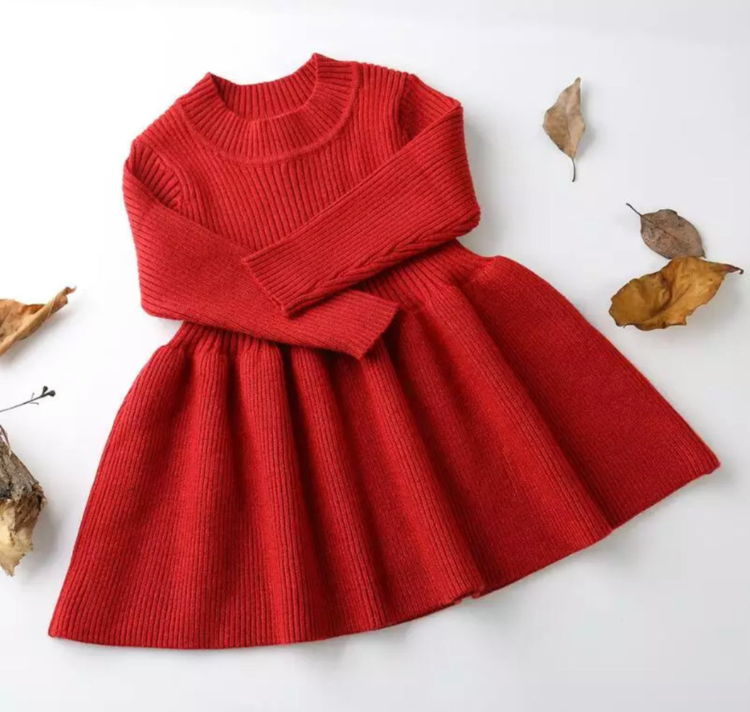 Autumn Dress ~ Red