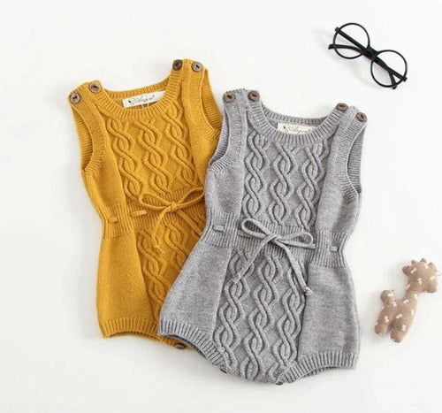 Isabella Knitted  Rompers