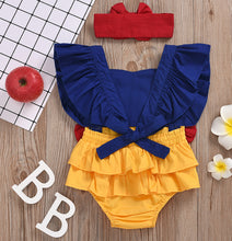 Load image into Gallery viewer, Snow White Inspired Romper