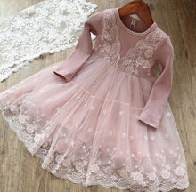 Load image into Gallery viewer, Melanie Lace Dress Pink