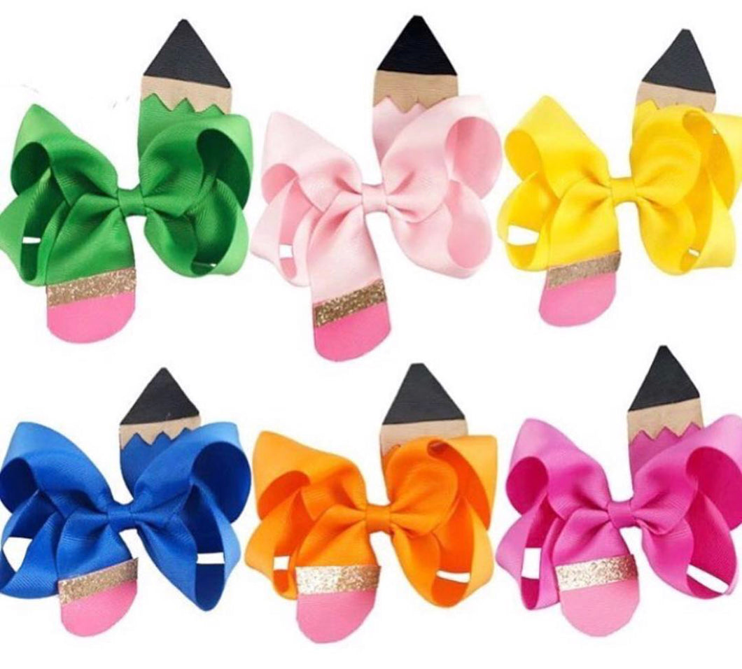 Pencil Hair Clips