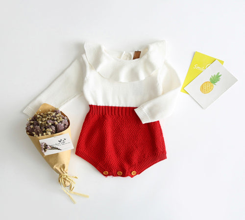 Lucy Holiday  Romper