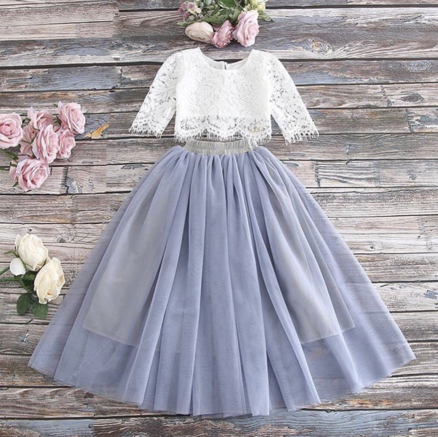 Marjorie Set ~ Gray