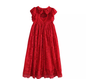 Holiday Dress ~ Red