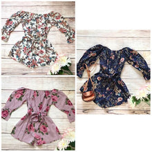 Load image into Gallery viewer, Isabella Floral Rompers