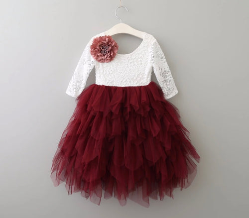 Alina Dress ~ Wine