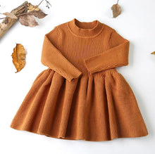 Load image into Gallery viewer, Autumn Dress ~ Brown