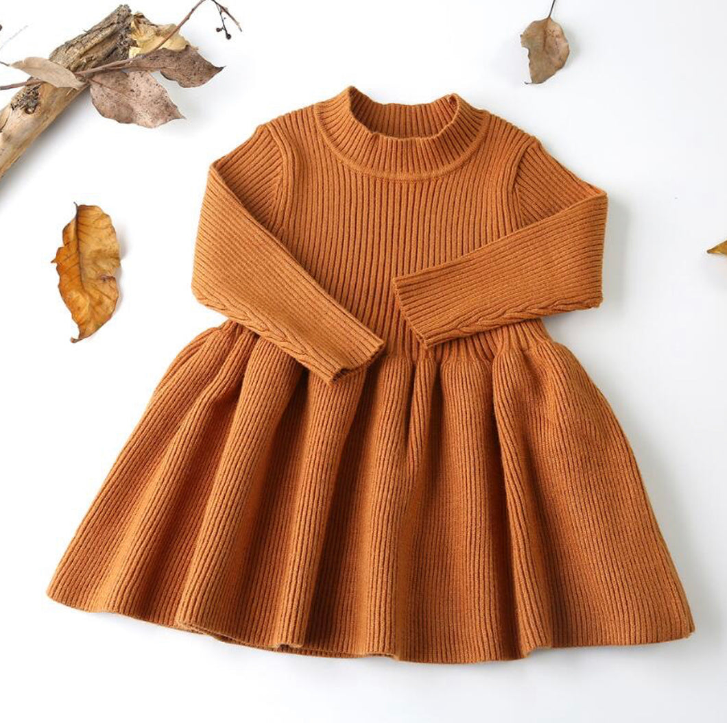 Autumn Dress ~ Brown