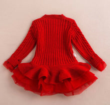 Load image into Gallery viewer, Sweater Dress ~ Red