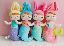 Load image into Gallery viewer, Mermaid Bunny  Plush Dolls
