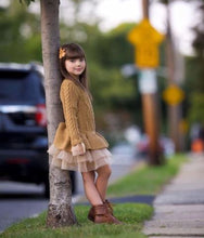 Load image into Gallery viewer, Sweater Dress Brown