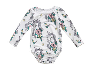 Unicorn Long Sleeve Bodysuit