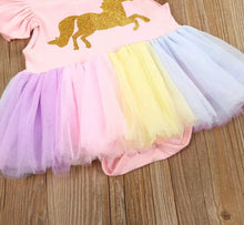 Load image into Gallery viewer, Unicorn Tutu Jumpsuit