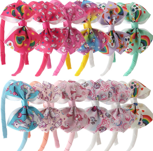Set of 12 Headbands