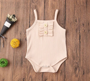 Set of 4 Cotton Bodysuits