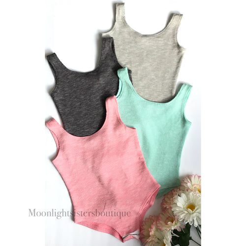 Sleeveless Bodysuits