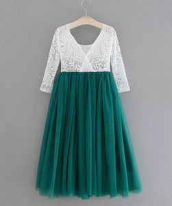 Molly Holiday  Dress ~ Emerald