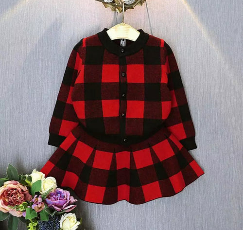 Sophie Plaid Set