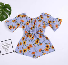 Load image into Gallery viewer, Sunflower Romper