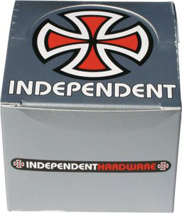 "Independent 12/Pk 1"" Phillips Silver Hardware  