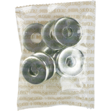 Mini Logo 10/Pack Kingpin Bottom Washer Silver | Universo Extremo Boards Skate & Surf