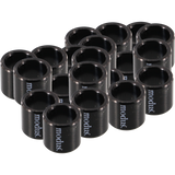Modus 20/Pack Bearing Spacers Black | Universo Extremo Boards Skate & Surf