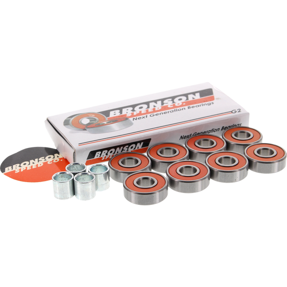 Bronson G2 Bearings Single Set Pack W/Spcrs+Wshers