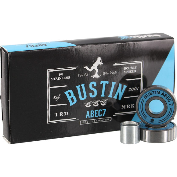 Ritalin Abec-5 Red Bearings Single Set