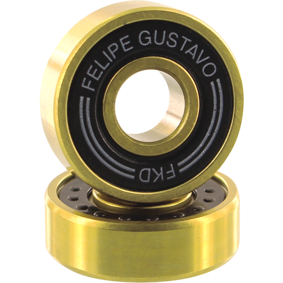 Fkd Gustavo Pro Gold Bearing Set Black/Gold