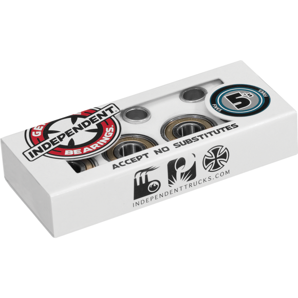 Independent 5s Abec-5 Single Set Bearings