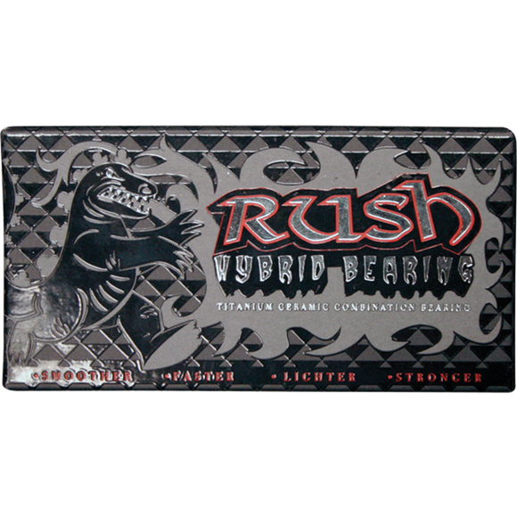 Rush Hybrid Bearings Titanium/Ceramic