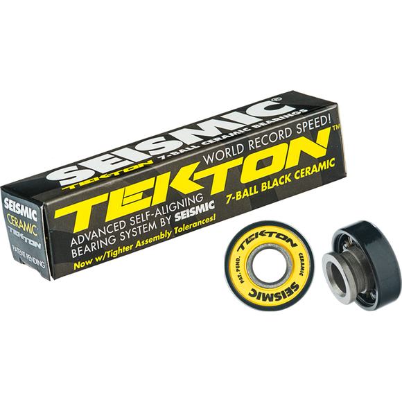 Seismic Tekton 8mm Ceramic 7-Ball Bearings