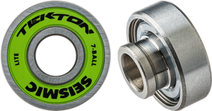 Seismic Tekton 8mm 7-Ball Lite Bearings Single Set  | Universo Extremo Boards Skate & Surf