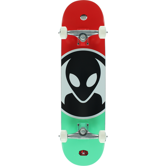 Alien Workshop Dot Complete Skateboard -7.87 White/Teal