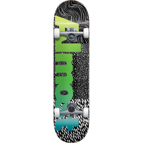 Almost Ct Logo Complete Skateboard -7.0 Black/Green