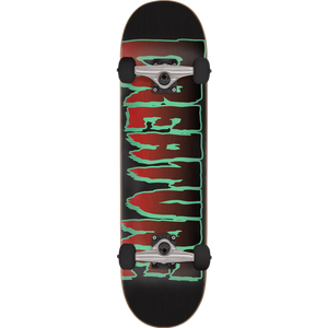 Creature Logo Complete Skateboard -8.0 Black/Red