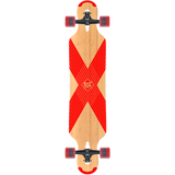 Db Longboards Coreflex Compound Flex2 Complete Skateboard -9x42 Natural/Red