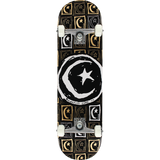 Foundation Star & Moon Sq.Repeat Complete Skateboard -8.5