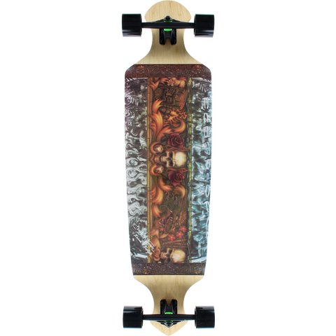 Kahuna Drop 43 Island Lifestyle Complete Longboard Skateboard -10.5x43 | Universo Extremo Boards Skate & Surf