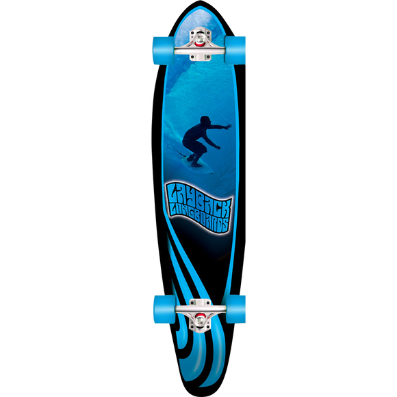 Layback Slotted Complete Longboard Skateboard -9.75x40