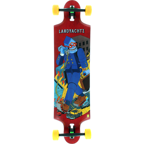 Landyachtz Tensor To Four Complete Longboard Skateboard -9.75x38.75 | Universo Extremo Boards Skate & Surf