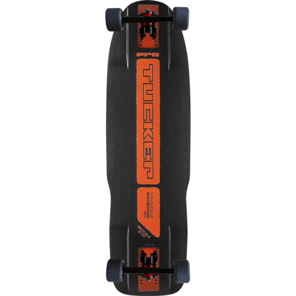 Moonshine Pro Tucker Complete Skateboard -9.75x33 /Black/Orange