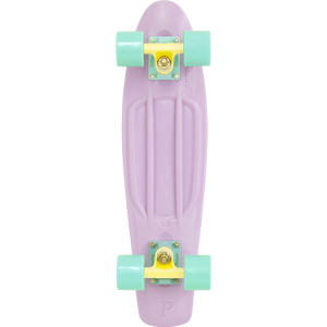 "Penny 22"" in Pastel Lilac/Lemon/Mint - Complete Skateboard 