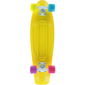 "Penny 27"" Nickel in Candy Coated Yellow - Complete Skateboard 