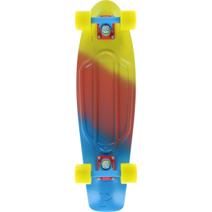 "Penny 27"" Nickel in Fade Canary - Complete Skateboard 