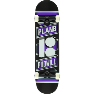 Plan B Pudwill Wrap Complete Skateboard -7.87 | Universo Extremo Boards Skate & Surf