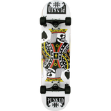 Punked King Of Spades Complete Skateboard -7.75   | Universo Extremo Boards Skate & Surf