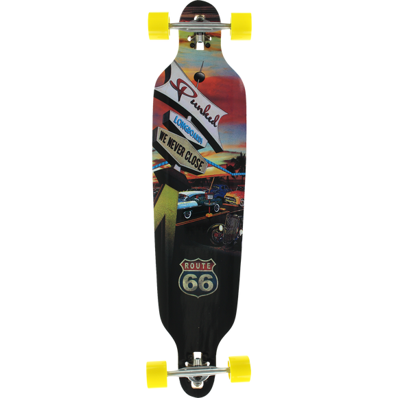 Punked Drop Through Complete Longboard -9x41.25 Diner