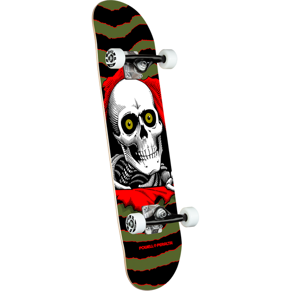 Powell Peralta Ripper Complete Skateboard -7.0 Olive
